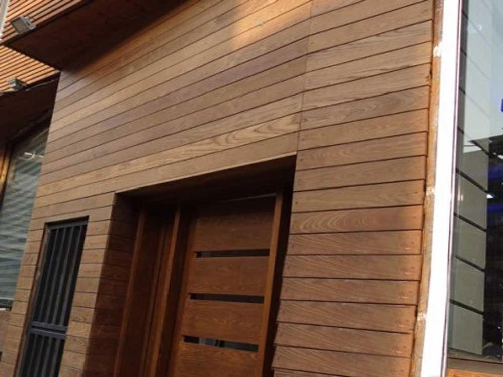 آلاچیق چوبی - استفاده از چوب کاج روسی در ساخت آلاچیق