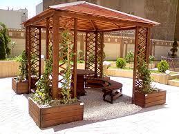 آلاچیق چوبی - آلاچیق چوب پلاست جایگزین مناسب آلاچیق چوبی