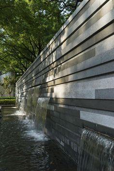 آبنما دیواری مدرن