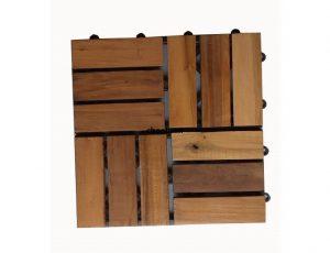 تایل چوب پلاست 30 در 30 ترمو جنگلی