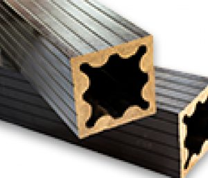 ستون 11 در 11 سانتیمتر چوب پلاست