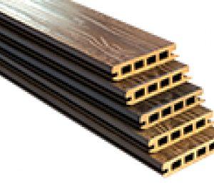 پروفیل نما چوب پلاست - 10 سانتیمتر
